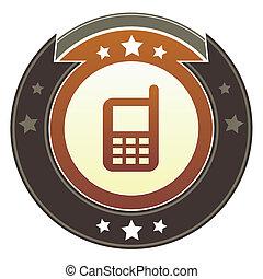 cellphone, bottone, imperiale