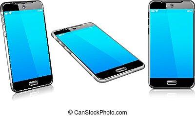 cellula, mobile, 2d, telefono, far male, 3d