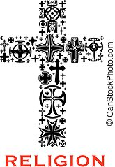 celt, religioso, cristiano, croce, simboli