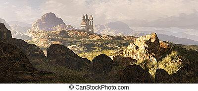 celtico, altopiani, paesaggio