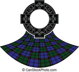 celtico, anello, scozzese