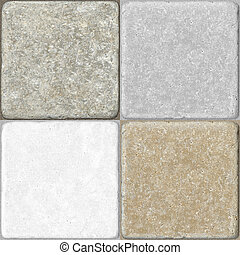 ceramica, pavimentazione, seamless, tegole