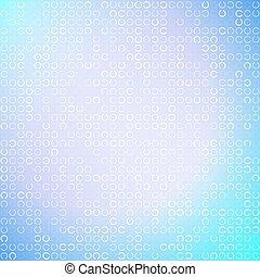 cerchi, luce blu, astratto, illustrazione, fondo, vettore, bianco