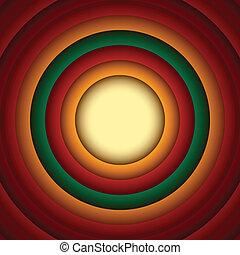 cerchio, astratto, fondo