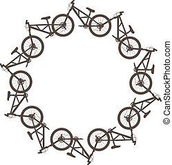 cerchio, bicicletta
