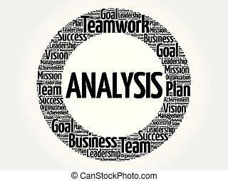 cerchio, parola, analisi, nuvola