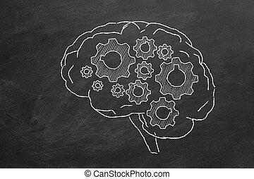 cervello, ingranaggi