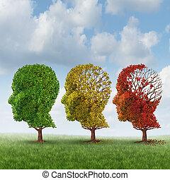 cervello, invecchiamento