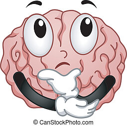 cervello pensante, mascotte