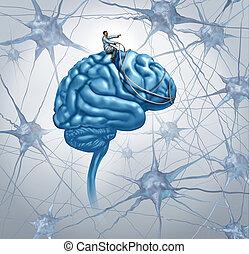 cervello, ricerca medica