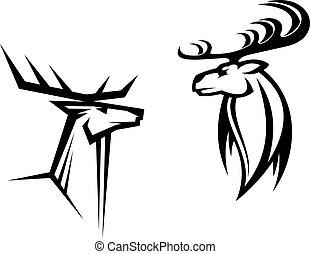 cervo, mascotti