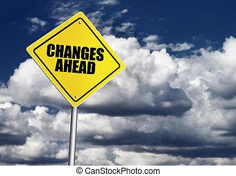 changes, avanti, segno