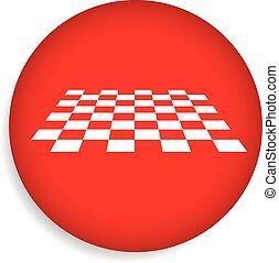 checkered, superficie