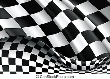 checkered, vettore, fondo