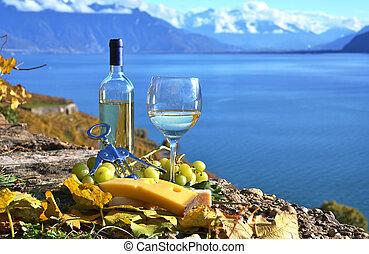 cheese., svizzera, vino, lavaux, regione