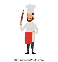 chef, avatar, cartone animato