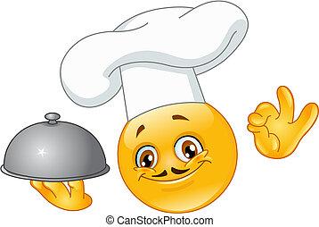 chef, emoticon