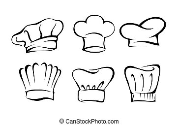 chef, set, cappello