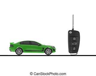 chiave automobile, sport