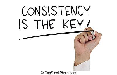 chiave, consistenza