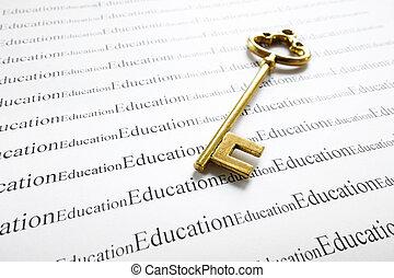 chiave, educazione