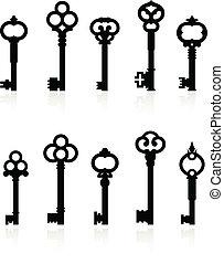 chiavi antiche, collezione