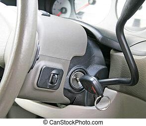 chiavi, automobile, accensione