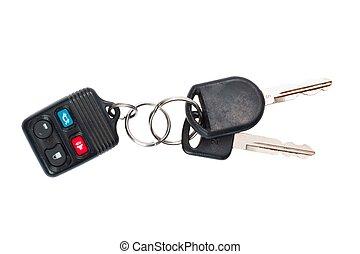 chiavi, automobile, controllo, remoto