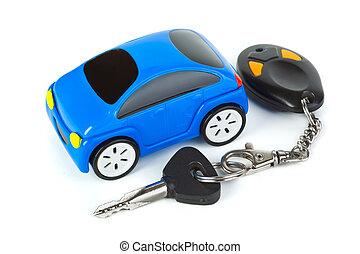 chiavi, automobile, giocattolo