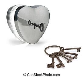 chiavi, cuore