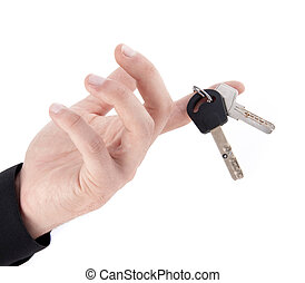 chiavi, mano