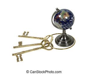 chiavi, mondo
