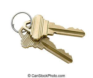 chiavi, percorso, ritaglio
