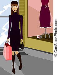 chic, shopping