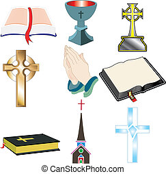 chiesa, 2, icone