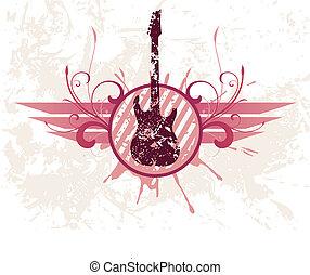 chitarra, grunge