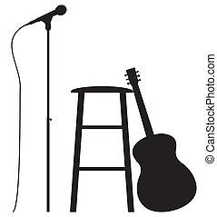 chitarrista, tesare