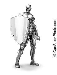 chromeman, protettore