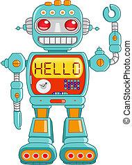 ciao, robot