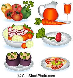 cibo, 1, vegetariano