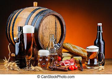 cibo, birra