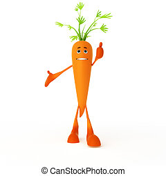 cibo, carattere, carota, -