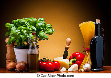 cibo, cucina, italiano