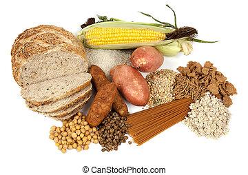 cibo, fonti, carboidrati, complesso