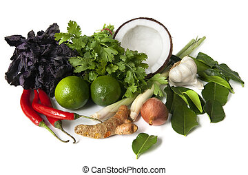 cibo, ingredienti, tailandese