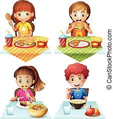 cibo, mangiare