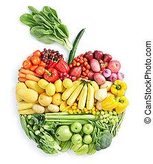 cibo sano, apple: