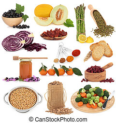 cibo sano, campionatore