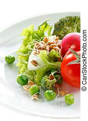 cibo sano, concept.