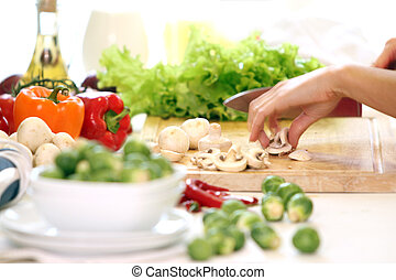 cibo, tavola, healthly